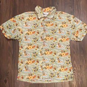 Disney's Aulani Small Aloha Shirt with Mickey